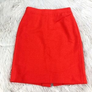 J.Crew Wool Blend Pencil Skirt